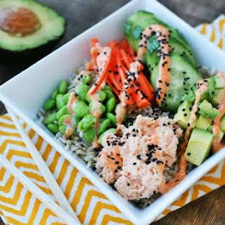 Spicy Tuna Sushi Bowls.