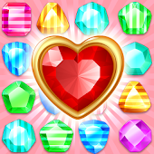 Jewels & Gems - King of Match 3 Puzzle Game icon
