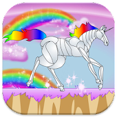 Rainbow unicorn attack