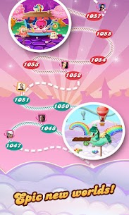 Candy Crush Saga 1.110.1.1 (Unlimited Lives/Moves) Mod Apk 4