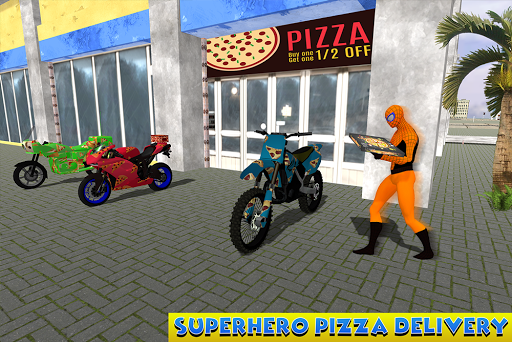 Amazing Spider Hero Pizza Delivery Games (apk) free download for Android/PC/Windows screenshot