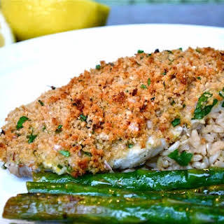 Parmesan Crusted Halibut Recipes.