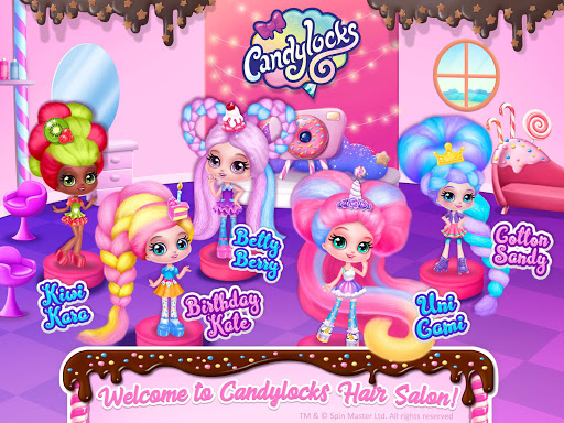 Candylocks Hair Salon - Style Cotton Candy Hair  Wallpaper 18