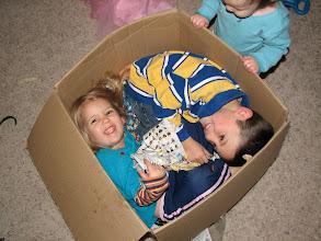 Photo: Kids in a box