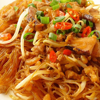 Fried Glass Noodles.