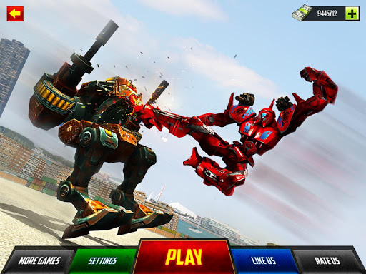 Robot Car War Transform Fight  screenshots 11