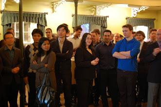 Photo: Quelques participants impatients de connaître qui va gagner nos fameux prix de présence!