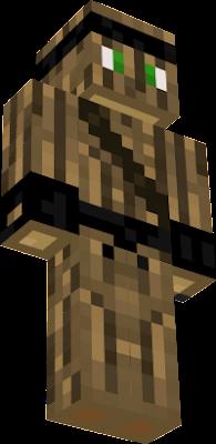 just a wooden ninja