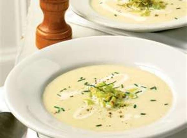 In a pot, combine potatoes, milk, broth, yellow onion, celery salt, and Nature's Seasonsings....