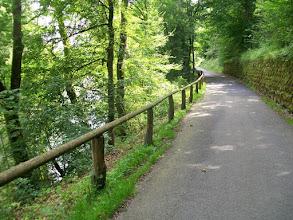 Photo: 8e Dag, donderdag 23 juli 2009 Erpfingen - Obersiggingen Aankomst: ca 16 uur Dag afstand: 98,2 km. Totaal gereden: 763 km. Langs de Donau bij Sigmaringen