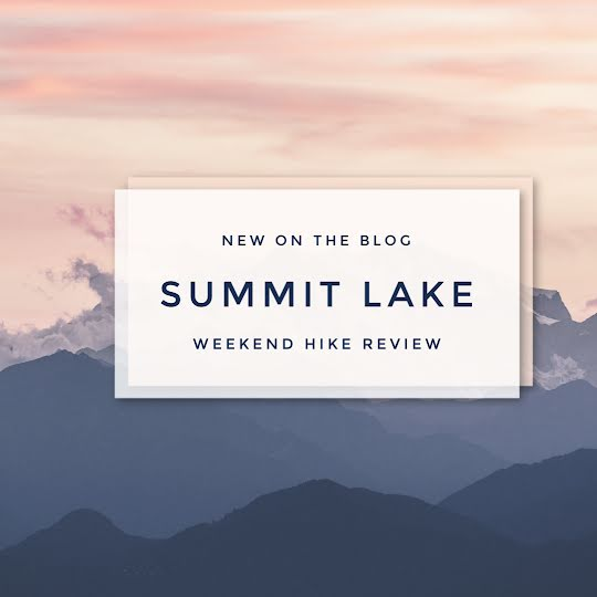 Weekend Hike Review - Instagram Post Template