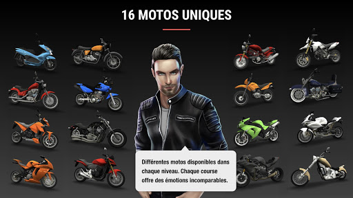 Racing Fever: Moto  captures d'écran 2