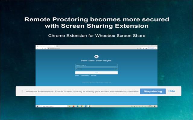 Wheebox Tests : Enable Screen Sharing