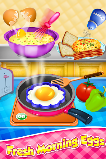 Breakfast Cooking - Healthy Morning Snacks Maker screenshots 7
