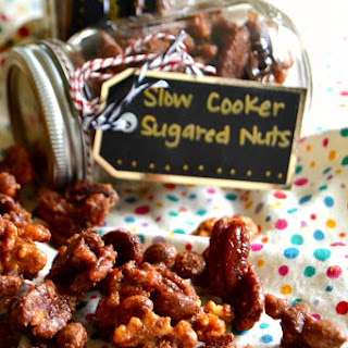 Slow Cooker Candied Nuts {An Edible Gift with Diamond of California!}