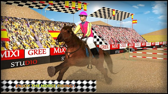 Horse Riding Jumping Derby Racing:Simulator 3D - náhled