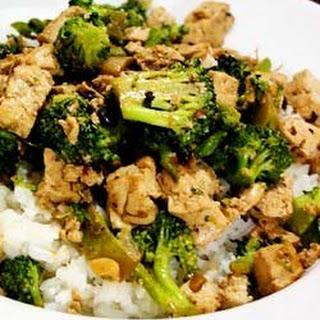 Spicy Broccoli Tofu Stir-Fry.