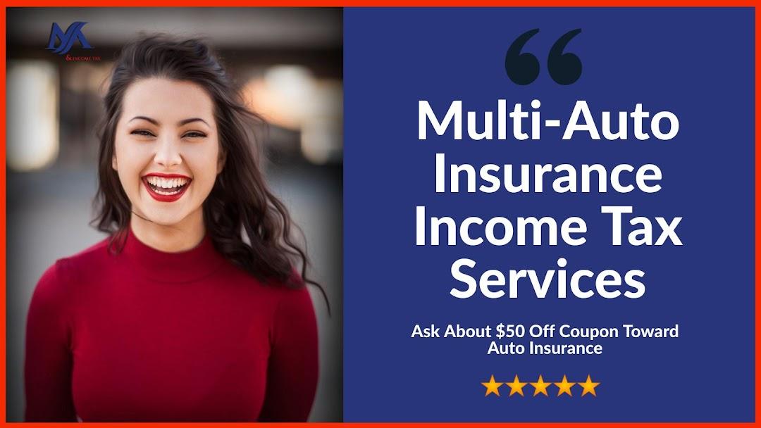 Multi-Auto Insurance Income Tax Services - Car Insurance ...