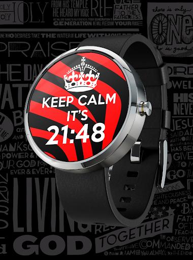 KEEP CALM Watch Face