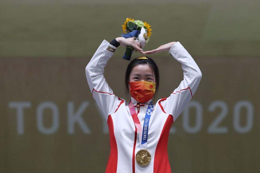 China's Yang grabs first gold of Tokyo Games