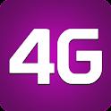 4G toggle internet speed prank icon