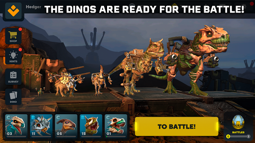 Code Triche Dino Squad. TPS Action With Huge Dinos APK MOD screenshots 5