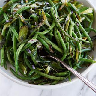 Vibrant Tasty Green Beans.