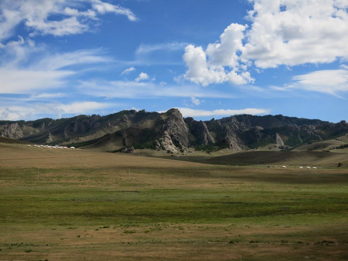 Montagnes du Parc National de Gorkhi Terelj