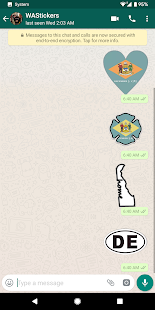 WAStickerApps Delaware Emoji for WhatsApp - náhled