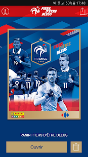 Panini Fiers d'Être Bleus screenshot