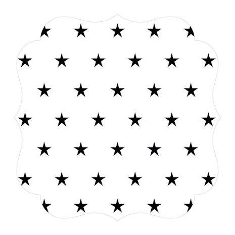 Bella Blvd Invisibles Die-Cut Plastic Sheet 12X12 - Brilliant UTGÅENDE