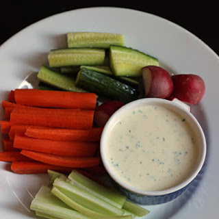 Delicious Ranch Dressing.