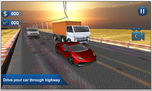 Highway Traffic Race 3D