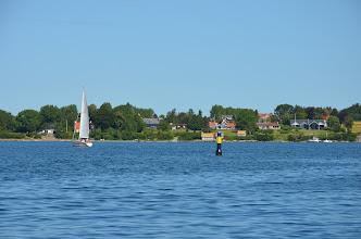 Photo: Aanloop Svenborg, mooie huizen die wedijveren om het mooiste uitzicht
