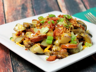 Loaded Fried Potatoes Recipe