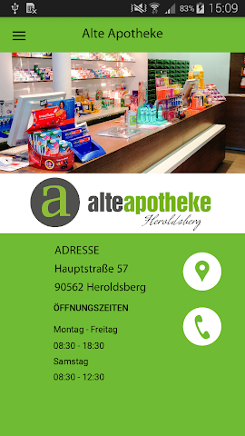 android Alte Apotheke Heroldsberg Screenshot 0