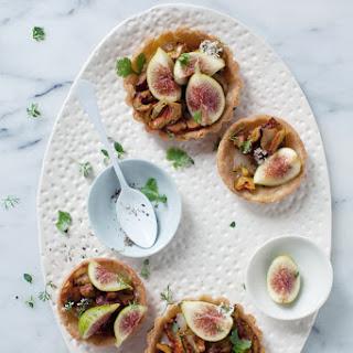 Wild Mushroom, Taleggio & Fig Tarts