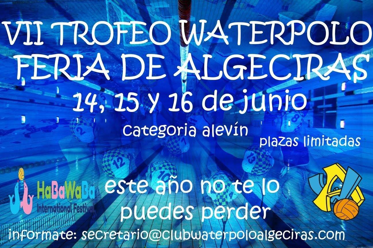 La Federación Española de Natación se fija en el Waterpolo Algeciras