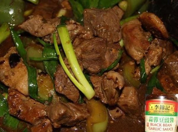 Black Bean Pork Recipe