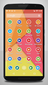 Papery Halo Icon Pack v1.4
