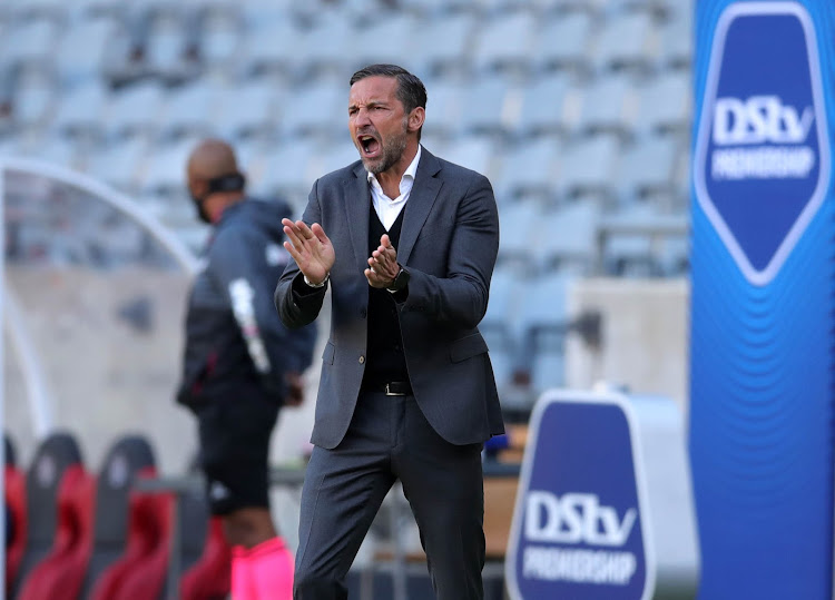 Orlando Pirates German coach Josef Zinnbauer says his team were unlucky to lose 3-0 to Mamelodi Sundowns.