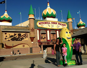 Photo: Ear we are at the world's only Corn Palace. Corn you believe all the murals are made of corncobs? — at Corn Palace.