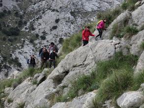 Photo: Último tramo de subida al Morro de Cúber