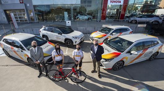 Toyota nuevo patrocinador de la Real Federación Española de Ciclismo