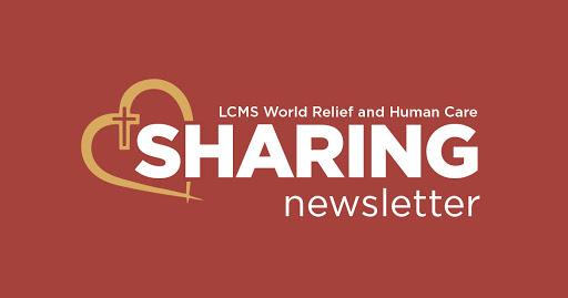 'Sharing' newsletter – July 2021