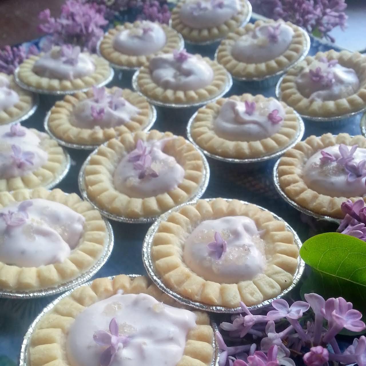pale purple Cream Tarts