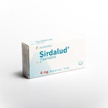 Sirdalud 4Mg Comprimidos   Caja x20Com. Novartis Tizanidina