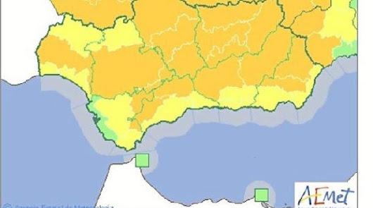 Toda la provincia está en alerta por las altas temperaturas