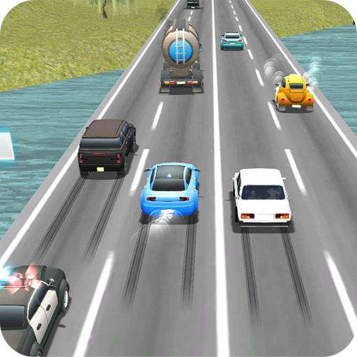 Racing in Heavy Traffic : Real Cars Simulator