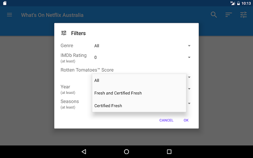 What's on Netflix Australia 1.2.3 screenshots 6